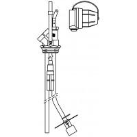 """Flexo-Bloc csatlakozó egység, kétvezetékes, 1 1/2"""" km, GWG 5 m-es kábellel"""