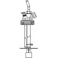 """Flexo-Bloc csatlakozó egység, egyvezetékes, Exportmodell, 1"""" km, L = 2000 mm"""