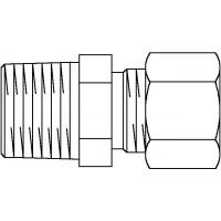 1/8x6mm,Gerade-Einschraubverschr.,Stahl
