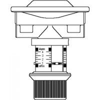 """Oilstop V visszaáramlásgátló szelep, G 3/8"""" bm, maximális áteresztés 200 l/h, 1-4 m"""