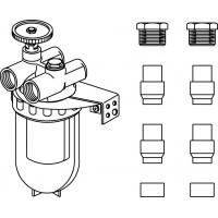 Egyvezetékes olajszűrő-készlet