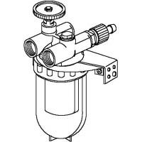 """Oilpur olajszűrő cirkulációs vezetékbe, DN10, 3/8"""" bm, légtelenítővel, nikkel"""