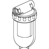 """Oilpur olajszűrő egyvezetékes rendszerre, 2 x 3/8"""" bm, Siku 50-75 mikron"""