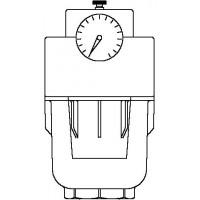 "Aquanova Compact E vízszűrő DN25, 1"", PN16, 100-120 mikron, max. 30°C"