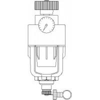 Aquanova Compact RE visszamosható, vízszűrő, DN25, 100-140 mikron