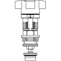 """Szelepfelsőrész Aquastrom C szelepekhez, DN15, 1/2"""""""