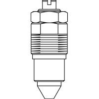 Szabályozóbetét vagószerelvényhez, kis térfogatáramok beállítására, DN25
