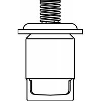 Szabályozóbetét vágószerelvényekhez, DN50, membránnal és rugóval