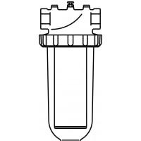 """Aquanova Magnum vízszűrő, 250-300 mikron, DN25, 1"""" bm, PN16, maximum 30°C"""