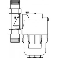"Aquanova Magnum vízszűrő, 95-140 mikron, DN20, 3/4"" km, PN16, maximum 30°C"