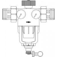 Aquanova Compact R vízszűrő, DN50, 100-140 mikron, PN16